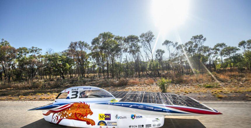 Nuon Solar Team Nuna8 wins WSC 2015